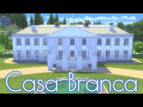 A Casa Branca (The White House - Happy #july4th) - Construção The Sims 4