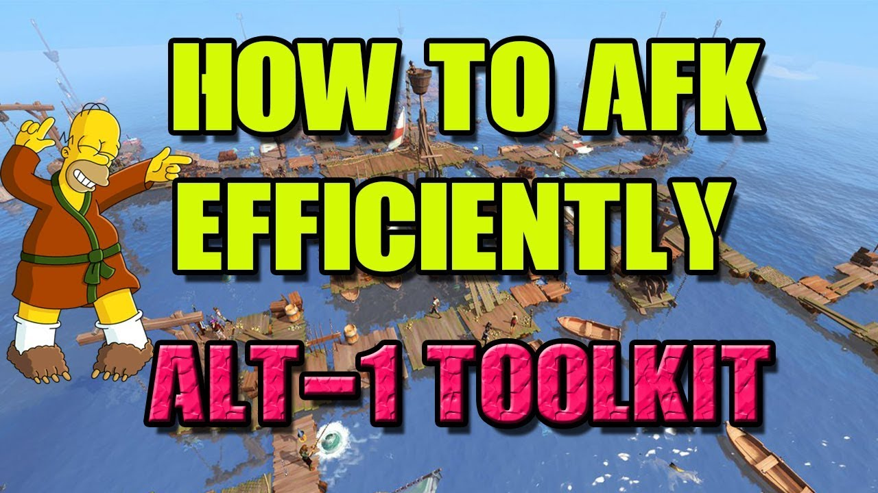 How to AFK Efficiently by Using Alt-1 Toolkit [Runescape 3]