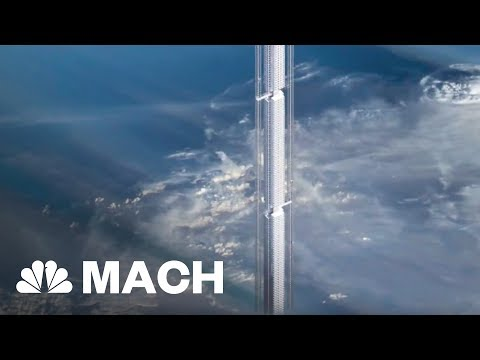 This Gigantic Building Would Hang From An Asteroid | Mach | NBC News