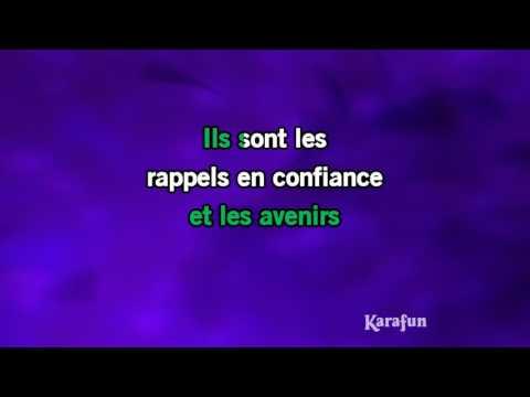 Karaoké Les souvenirs - Joyce Jonathan *