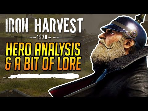 Iron Harvest | Heroes and Lore |