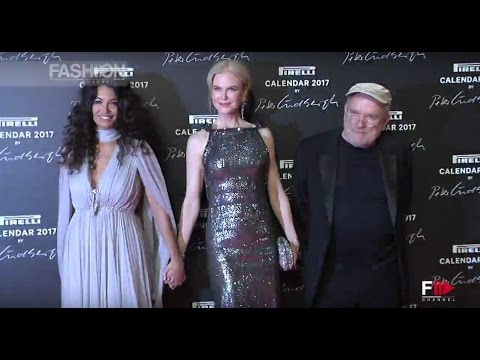 PIRELLI CALENDAR 2017 Red Carpet & Interviews  Nicole Kidman, Uma Thurman, Charlotte Rampling by FC