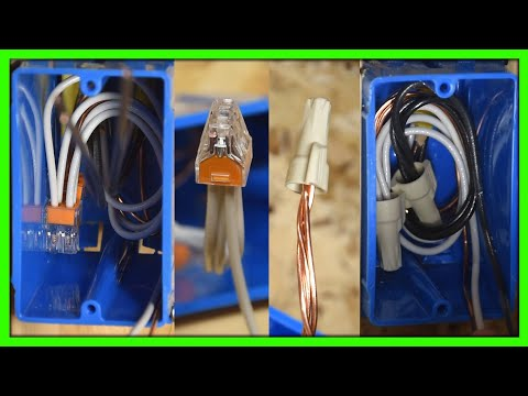 Wago's Vs. Wire Nuts - How To Wire Outlets During Rough In