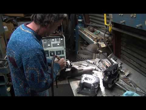 2005 xl 1200 #106 sportster porting head and cylinder rebuild repair roadster by tatro machine