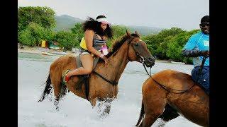 Driving to Ochi From Montego Bay Chukka Cove HORSE BACK RIDE-Jamaica Vlog-Beautybyposh