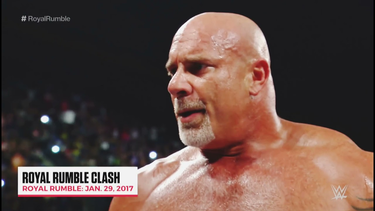 Download Wwe action between Goldberg and Brock Lesnar