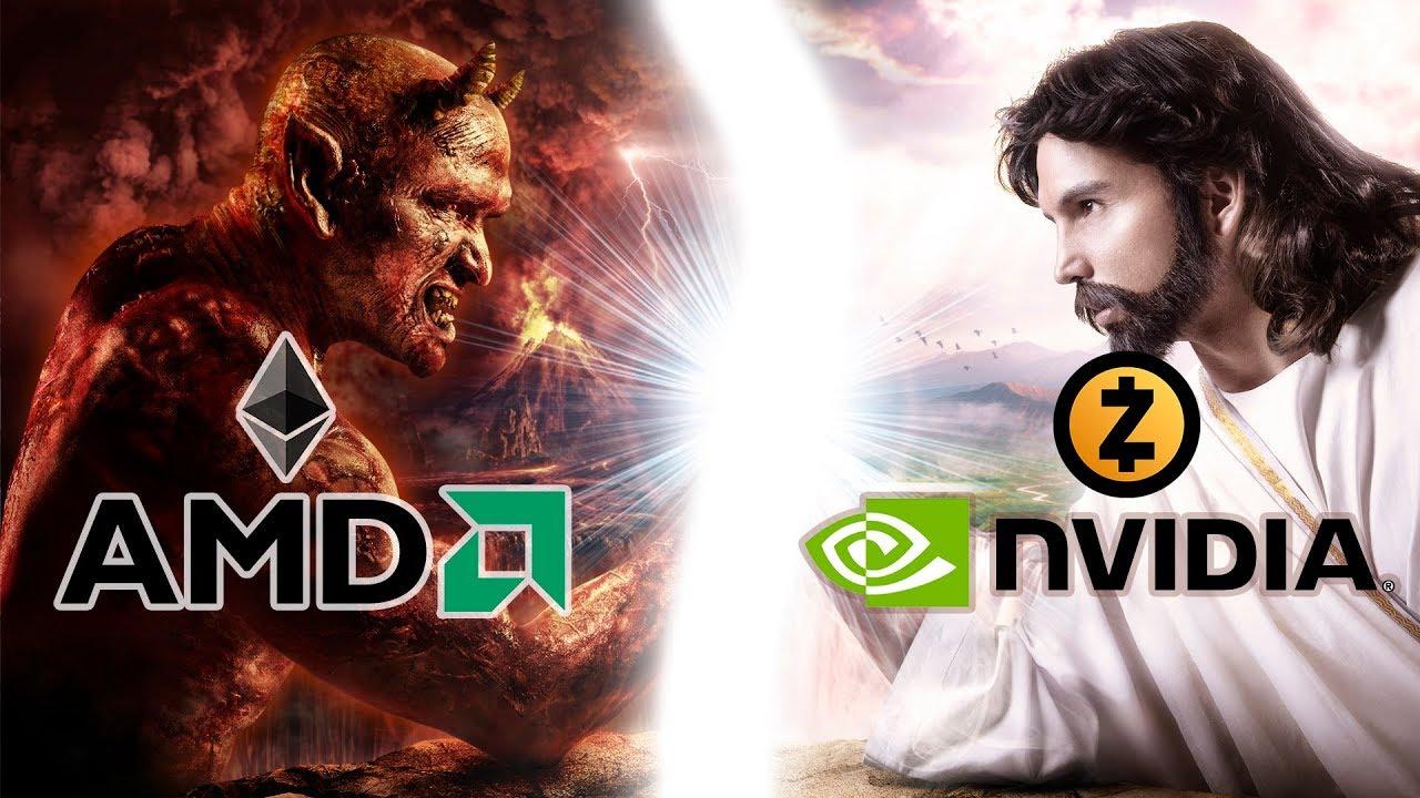 Что майнить на NVIDIA / AMD в 2018? ETH - эфир или ZEC - зикеш? Какие карты для какой монеты?