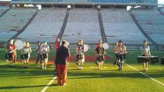 WSUDL Martin Stadium Saturday Rehearsal - Gangsta Jazz - Opener
