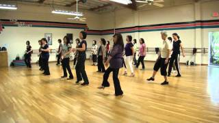Knee Deep Line Dance (Demo & Walk Through)