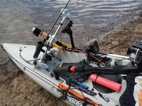 Full download fissot fishing kayak with 40 bls motor by for Fissot fishing kayak