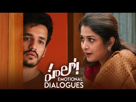 Hello Movie Emotional Dialogues | Promos | Akhil Akkineni | Kalyani Priyadarshan | TFPC