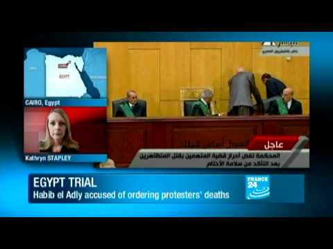 Egypt - Trial of Mubarak's security chief resumes in Cairo