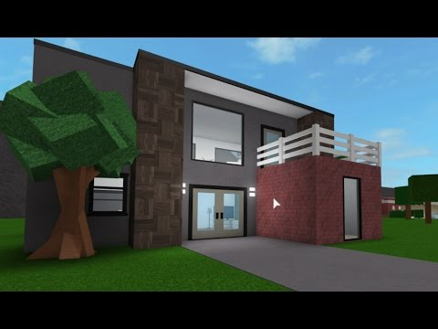 Building A 10k House 3 Roblox Bloxburg Youtube