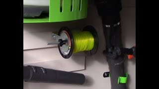 DLC - Green Touch Trimmer Spool Rack