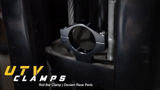 1.625 Roll Bar Deviant Billet Roll Bar Clamp