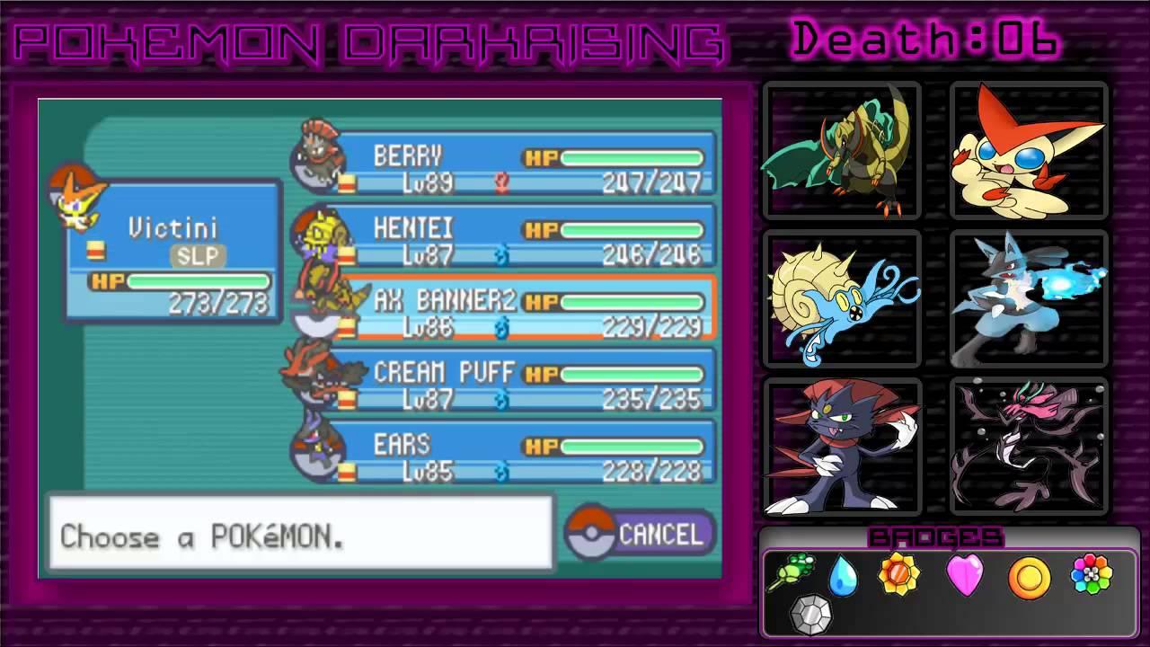 pokemon dark rising 2 pokedex