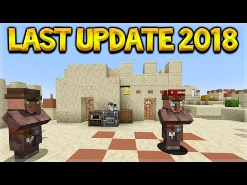 Minecraft Just Added NEW Villagers, NEW Furnaces & Final 2018 Update!