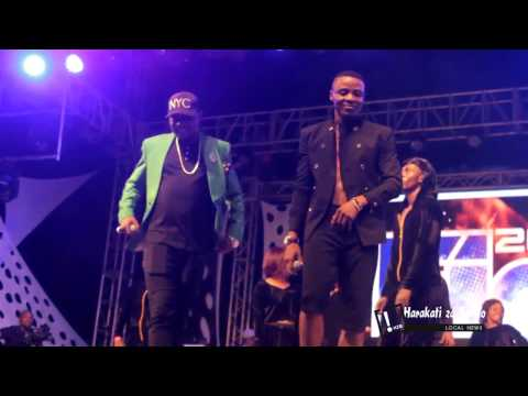 Alikiba Perfomance with Mr Blue,Ommy Dimpoz,Abby Skills and Christian Bella Fiesta 2016