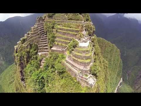 Machu Picchu from a DJI Phantom w/ GoPro Hero3 HD