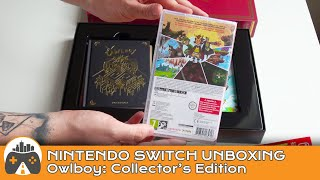 [Owlboy] Nintendo Switch Limited Edition unboxing