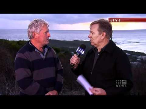 Nine News coverage Gracetown Shark Attack, Tuesday August 17, 2010