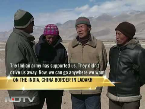Living on the India, China border in Ladakh