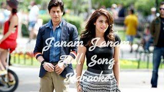 Janam Janam Full Song Karaoke with Lyrics•Dilwale•2015