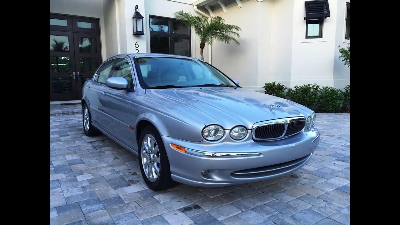 2002 Jaguar X Type 2.5 Sedan For Sale By Auto Europa Naples (239) 649 7300  / MercedesExpert.com