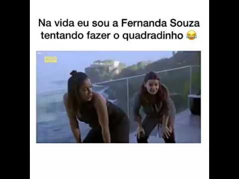 Anitta Tentando Ensinar Fernanda Souza Fazer O Quadradinho Youtube