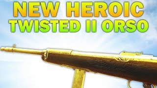New SMG Twisted II Heroic Orso - New DLC Gun Gameplay In COD WW2