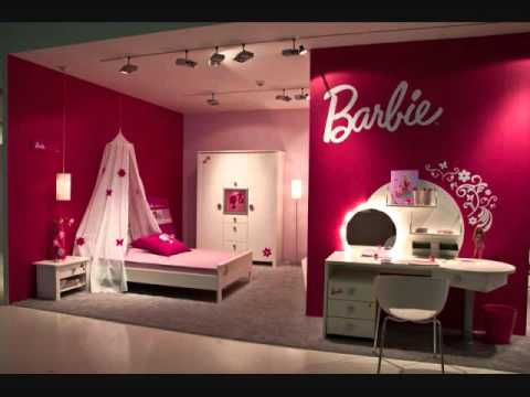 Girls Room Decoration girl room decoration ideas barbie - youtube