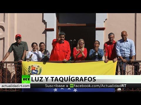 RT en Español: Maduro busca un acuerdo con la oposición venezolana para renovar el Consejo Nacional Electoral