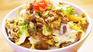 日式著名牛丼飯的家庭做法 只需5分鐘【美食天堂 CiCi's Food Paradise】
