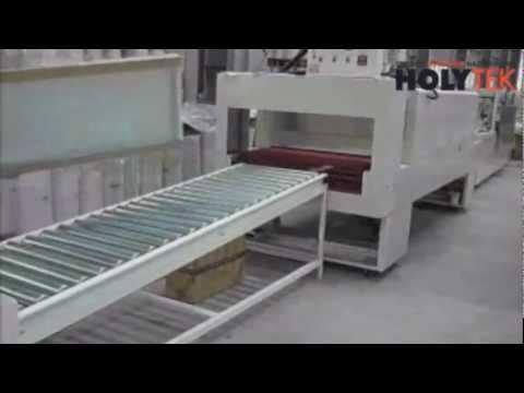 Линия упаковки элементов корпусной мебели