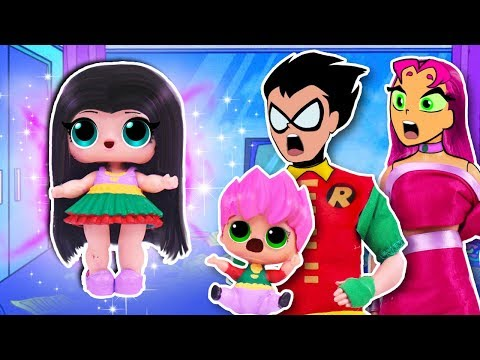 La Hija de ROBIN y STARFIRE descubre sus PODERES 💥 Teen Titans Go❗️Juguetes Fantásticos