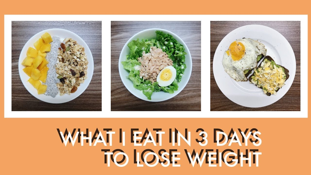 Mình ăn gì để GIẢM CÂN trong 3 ngày 🥗🥑🍳 | What I eat to lose weight | Mailovesbeauty TV
