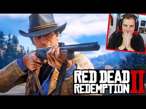 RED DEAD REDEMPTION 2 GAMEPLAY ITA!! - ASSURDO!! Live Reaction