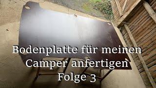Bodenplatte für den Camper Ausbau anfertigen // Folge 3 // VW T5 // Campervan // Transporter Ausbau