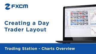 Creating a Day Trader Layout | FXCM Trading Station Functionality