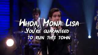 The Ballad Of Mona Lisa (karaoke instrumental) Panic At The Disco