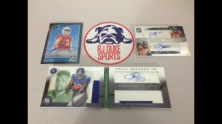 2/22/19 - 2014 Playbook Football and 2018 Donruss Optic Hobby Football