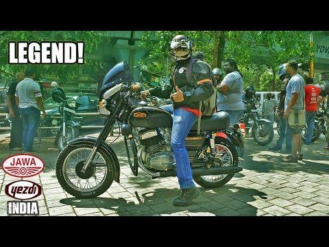 YEZDI JAWA OWNERS CLUB INDIA | Mumbai | Saving the Legend