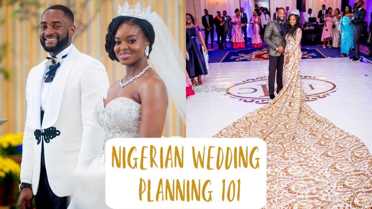 Nigerian Wedding Planning 101 My Mishaps Vendors No Registry