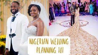 NIGERIAN WEDDING PLANNING 101: MY WEDDING MISHAPS, VENDORS + NO REGISTRY