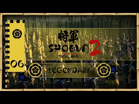Let's Play Total War: Shogun 2 (Legendary) - Oda - Ep.06 - Sakai's Adventure!