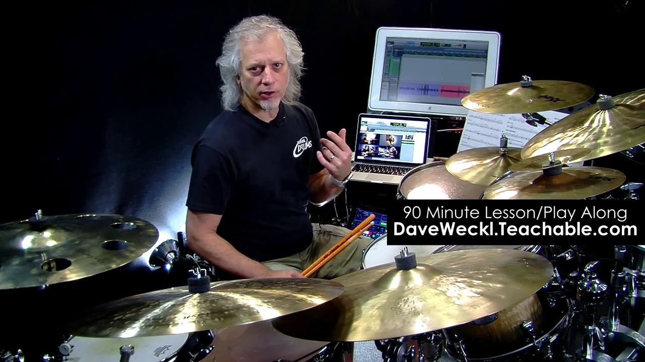 Dave Weckl Teaches Latin-Inspired Jazz: Pt. 3