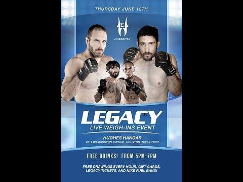 Legacy 31 Prelims - David Acosta vs. Angel Zamora