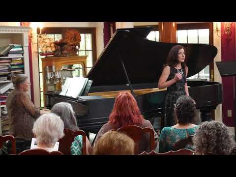 Fog Wraiths, Jennifer Sgroe, soprano in recital with BSR