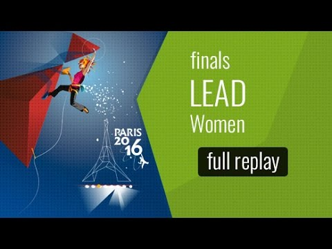 IFSC World Championships Paris 2016 - Lead - Finals - Women