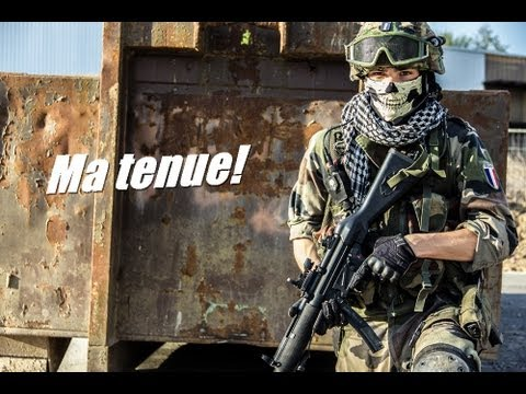 airsoft fran ais mon loadout minizem youtube. Black Bedroom Furniture Sets. Home Design Ideas